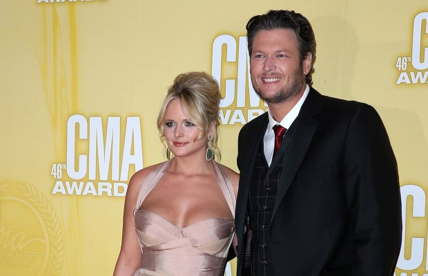 "Blake and Miranda on ""Hottest Celebrity Couple List"""