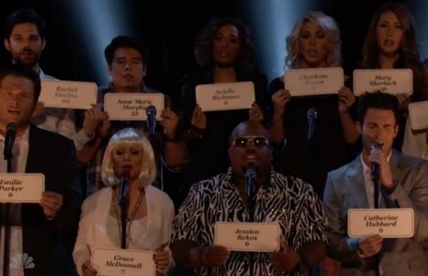 The Voice Tribute to Sandy Hook Elementary School