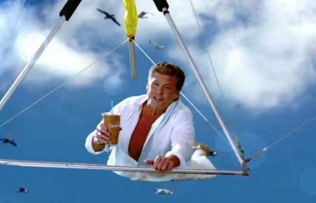 David Hasslehoff is Thirsty For Love!