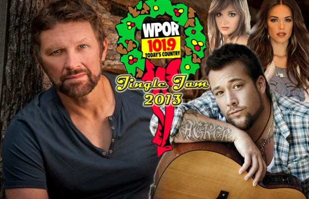 WPOR's Jingle Jam 2013 featuring Craig Morgan!
