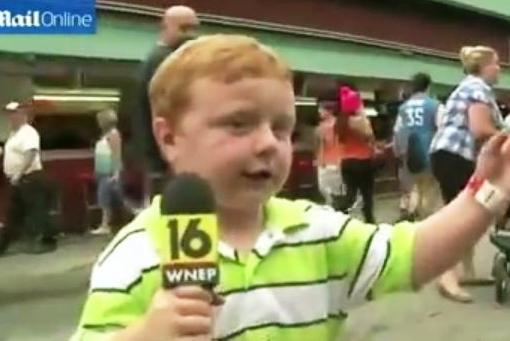 """This kid is """"apparently"""" awesome"""